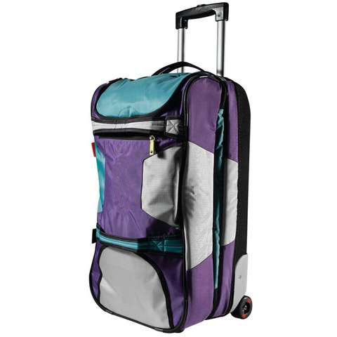 Travel Bag With Wheels And Shoulder Straps 91
