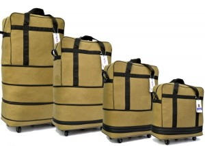 Foldable trolley bag